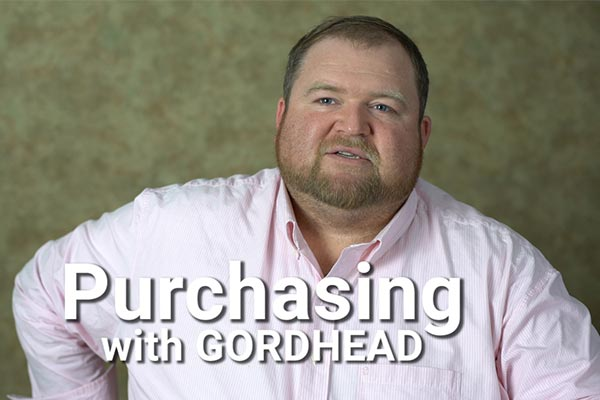 Purchasing with Gordhead