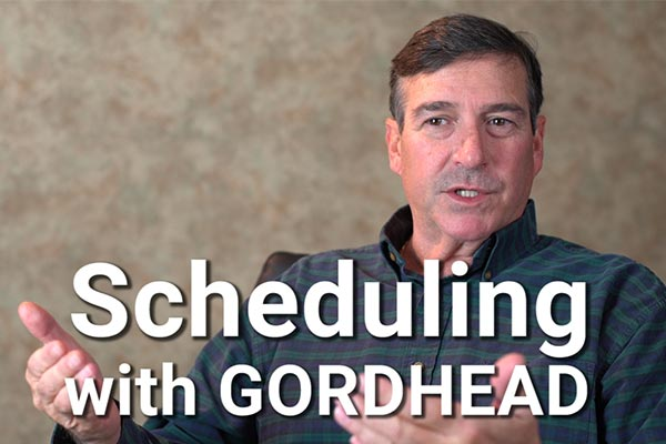 Scheduling with Gordhead Video