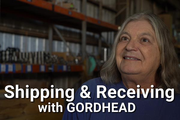 Shipping and Receiving with Gordhead